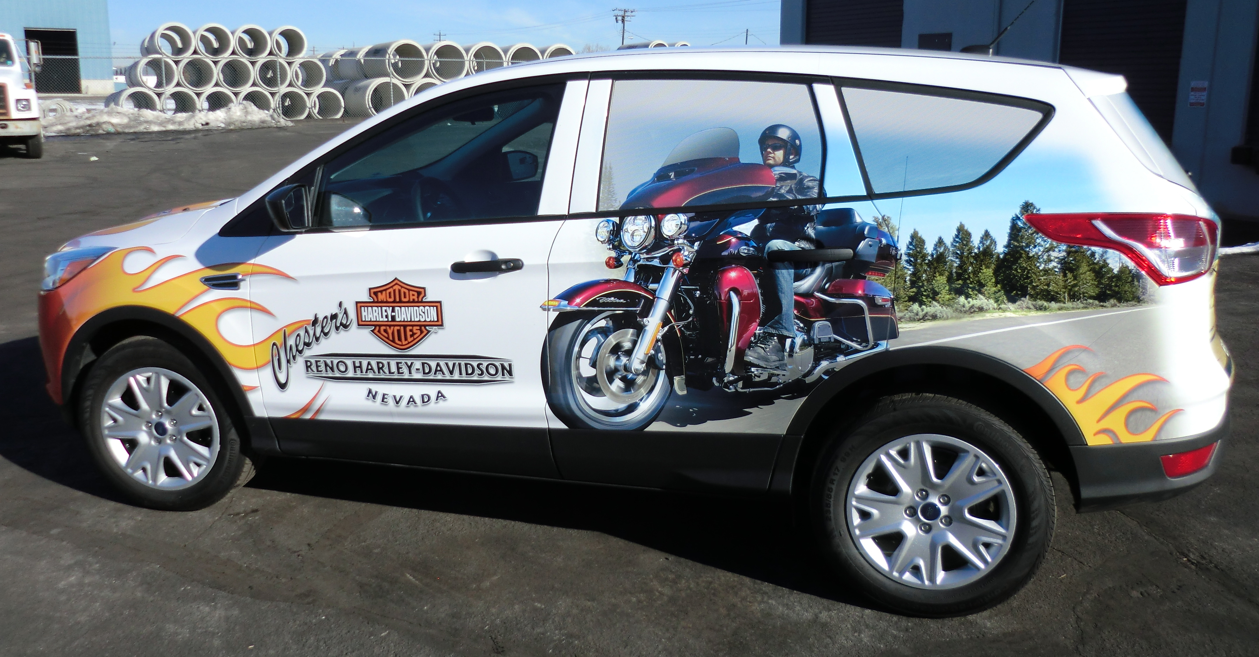 Car Vinyl Wrap Cost >> Car Wrap Advertising | Vehicle Wraps Reno | Grafics Unlimited