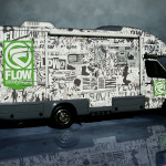 Flow Motor home, vinyl wrap