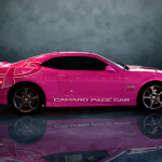 Grafics Unlimited, Camero wrap for Breast Cancer pace car