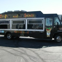 Box Truck Custom Wrap, All Wrapped Up Food