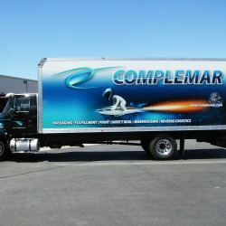 Box Truck Wraps, Complemar