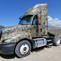 Camo Truck Wrap, Grafics Unlimited