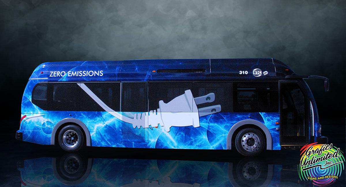 Bus Wrap Grafics Unlimited Grafics Unlimited
