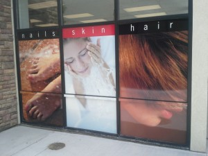 Exterior Signs, Window Graphic