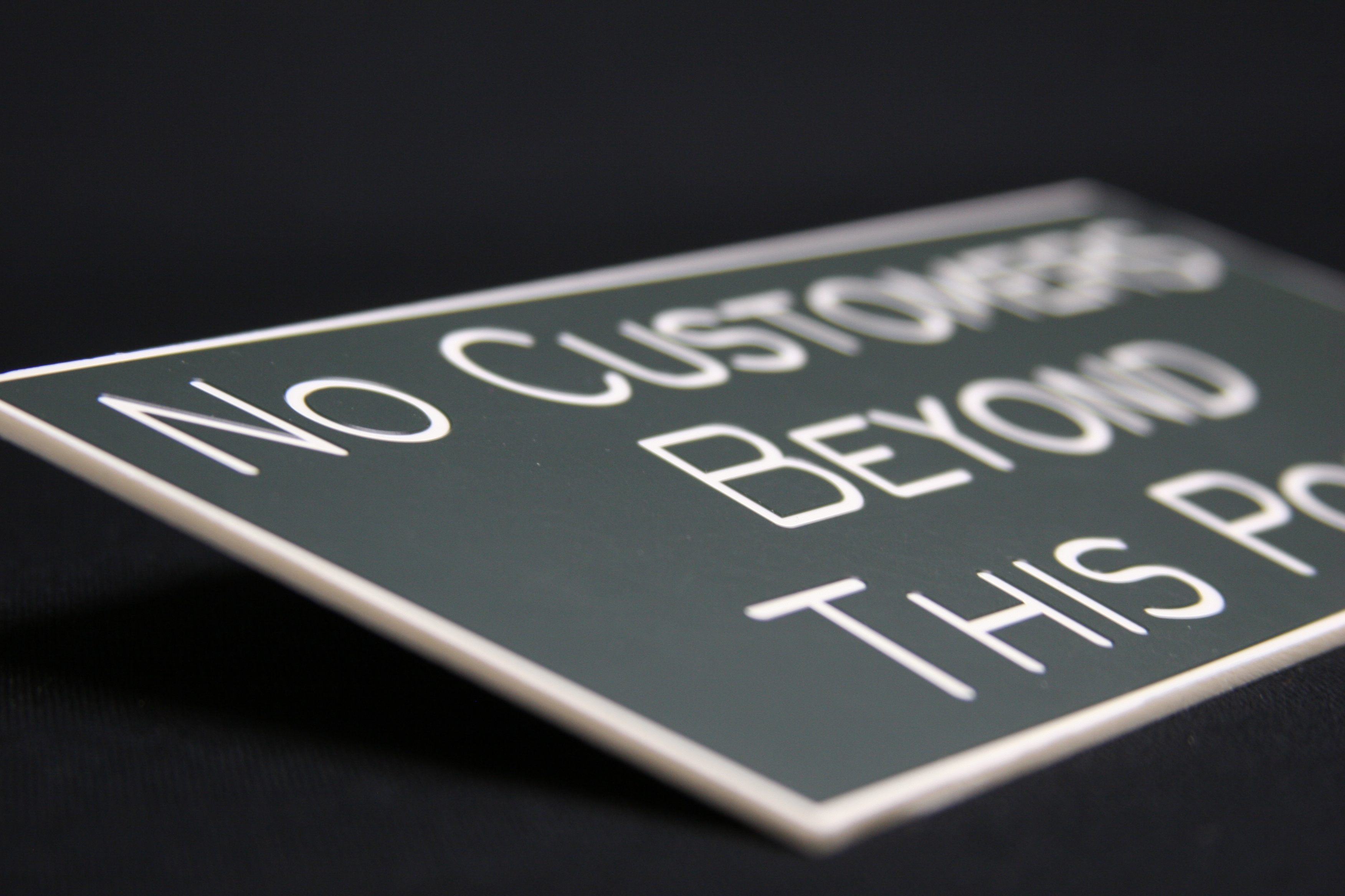 Image of Engraved signs