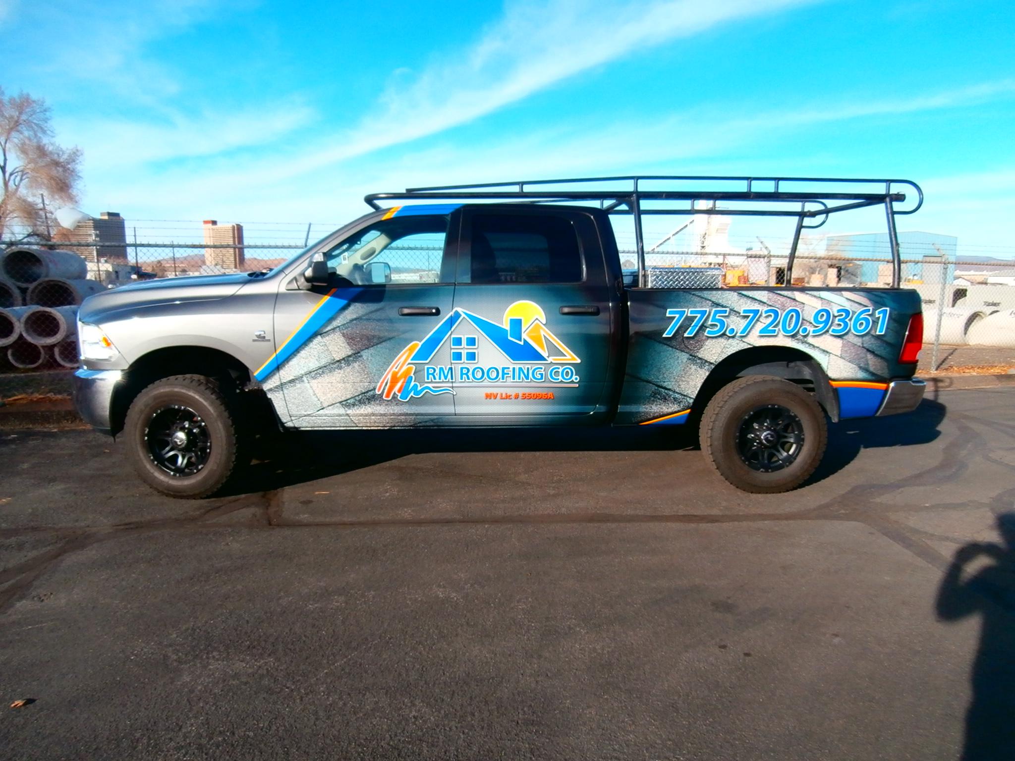 Custom Vehicle Wraps | Grafics Unlimited | Reno | Sparks