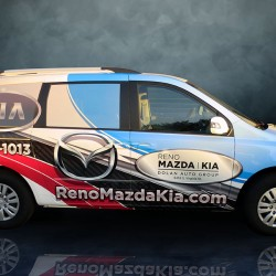 Reno Mazda Kia Custom Wrap