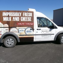 Van Custom Wrap, Sand Hill Dairy