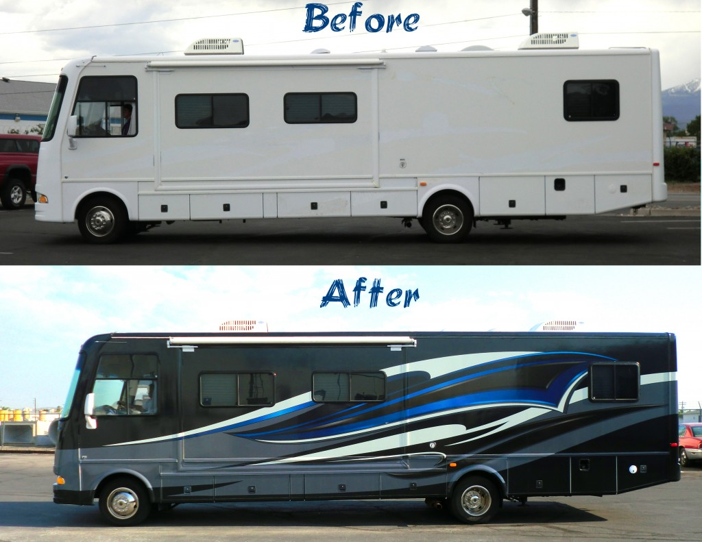 Buses And Motor Homes Grafics Unlimited - Custom rv vinyl decals