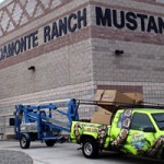 Delmonte Ranch Mustangs, Exterior sign