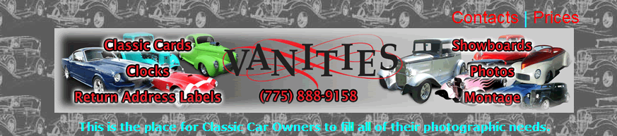vanities classic cars