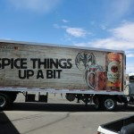 Grafics Unlimited, Bacardi Oakeheart trailer wrap