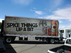 Grafics Unlimited, Bacardi Oakeheart trailer wrap