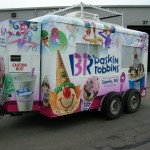 Grafics Unlimited, Baskin Robins trailer wrap