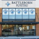 Grafics Unlimited, Battleborn Jujitsu Window Signage