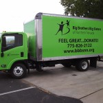 Grafics Unlimited, Big Brothers Big Sisters box truck wrap