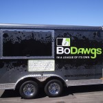 Grafics Unlimited, Bo Dawgs trailer wrap