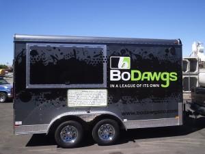Grafics Unlimited, Bo Dawgs trailer wrap