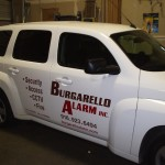 Grafics Unlimited, Burgarello Alarms inc. car graphics