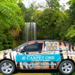 Grafics Unlimited, Carpet One SUV wrap