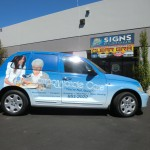 Grafics Unlimited, Compassionate care car wrap