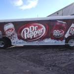 Grafics Unlimited, Dr Pepper trailer wrap