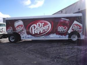 Grafics Unlimited, Dr Pepper trailer wrap
