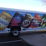 Grafics Unlimited, Drink trailer wrap