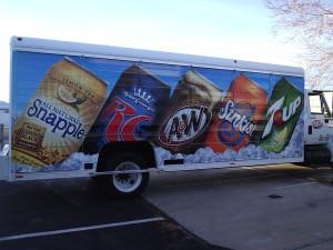 Grafics Unlimited, Drink trailer wrap