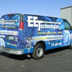 Grafics Unlimited, EE Technologies van wrap
