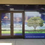 Grafics Unlimited, Farmers Ins. window graphics