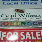 Grafics Unlimited, Gail Willey signage