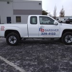 Grafics Unlimited, Gardner Eng. truck graphics