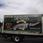 Grafics Unlimited, Great Basin Brewing Co. box truck wrap