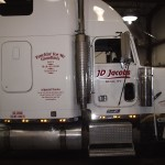 Grafics Unlimited, JD Jacobs Tractor trailer graphics