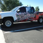 Grafics Unlimited, Knight Sweeping Truck wrap