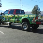 Grafics Unlimited, Machado BJJ truck wrap
