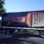 Grafics Unlimited, Makers Mark Trailer Wrap