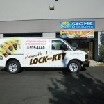 Grafics Unlimited, Mammoth Lock and Key van wrap