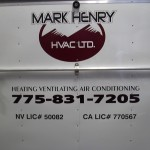Grafics Unlimited, Mark Henry HVAC Trailer graphics