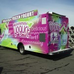 Grafics Unlimited, Mmmmm Yogurt box truck wrap