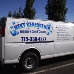 Grafics Unlimited, Next Generation Window cleaning van grapfics