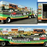 Grafics Unlimited, Quenvolds Truck wrap