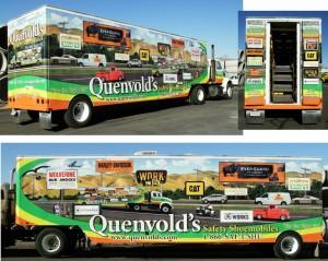 Grafics Unlimited, Quenvolds Truck wrap