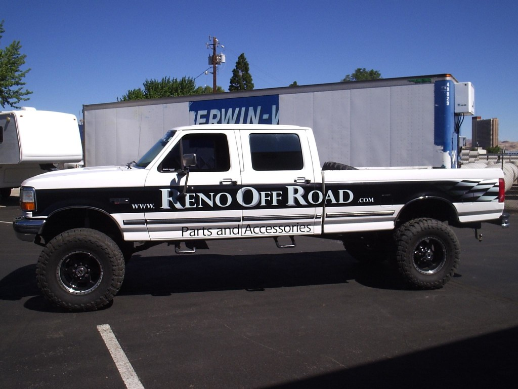Reno Paint Mart >> Trucks - Grafics Unlimited