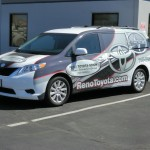 Grafics Unlimited, Reno Toyota-Scion van wrap