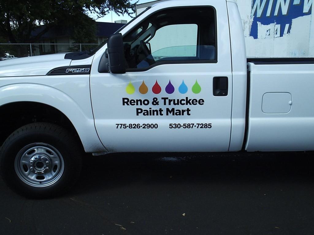 Reno Paint Mart >> Cut Vinyl Lettering Grafics Unlimited
