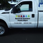 Grafics Unlimited, Reno Truckee Paint Mart truck graphics