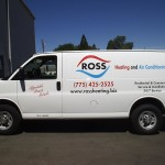 Grafics Unlimited, Ross HVAC Van Graphics