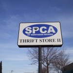 Grafics Unlimited, SPCA Thrift Store signage